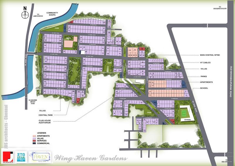 Eta Wing Haven Garden Residential Plots On Omr  Chennai
